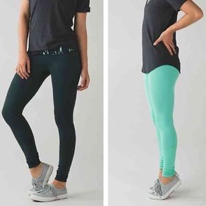 Lululemon Wunder Under Pant III Reversible